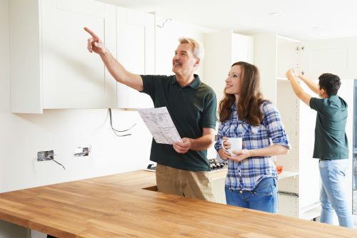 Kitchen fitting 2 - Building Services