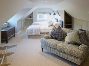 Attic AFTER 295x220 - Refurbished Home Cerne Abbas