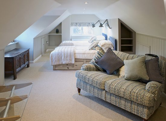 Attic AFTER 550x400 - Refurbished Home Cerne Abbas